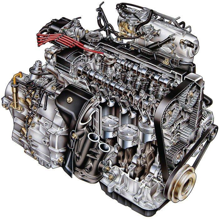 Купить двигатель в Караганде, бензин, дизель двс